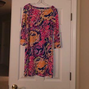 Lilly Pulitzer 3/4 sleeve short dress